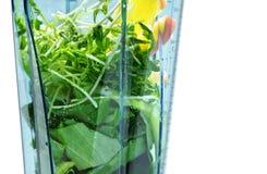 Gezonde smoothie voor gewichtsverlies Ingrediënten voor gezonde vlot stock afbeeldingen