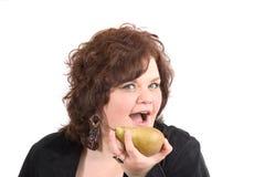 Gezonde snack! Stock Foto's