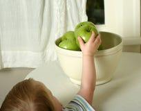 Gezonde snack Royalty-vrije Stock Afbeeldingen