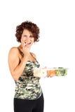 Gezonde Snacking Stock Foto