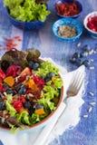 Gezonde superfoodsalade Royalty-vrije Stock Foto's