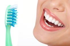 Gezonde tanden Stock Afbeelding