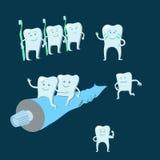 Gezonde tanden Stock Afbeeldingen