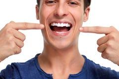 Gezonde tanden royalty-vrije stock afbeelding