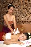 Gezonde Thaise Massage Stock Fotografie