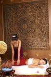 Gezonde Thaise Massage Stock Foto