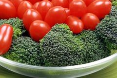 Gezonde vegetarische salade Stock Foto's