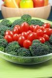 Gezonde vegetarische salade Stock Afbeeldingen