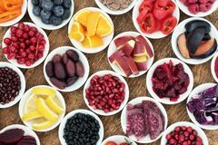 Gezonde voeding detox voedsel Royalty-vrije Stock Fotografie