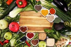 Gezonde voedsel schone het eten selectie E royalty-vrije stock foto's