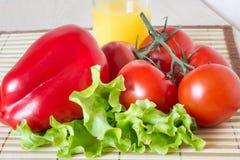 Gezonde voedsel verse groenten Royalty-vrije Stock Afbeeldingen