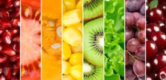 Gezonde voedselachtergrond royalty-vrije stock foto's
