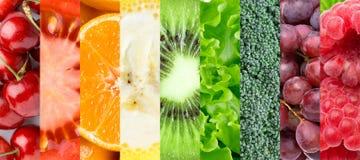 Gezonde voedselachtergrond royalty-vrije stock afbeeldingen