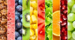 Gezonde voedselachtergrond stock afbeelding