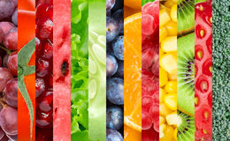 Gezonde voedselachtergrond stock fotografie