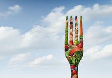 Gezonde voedsellevensstijl Royalty-vrije Stock Fotografie