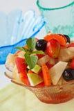 Gezonde vruchten salade Stock Foto