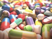 Gezondheid en Drugs Stock Afbeeldingen