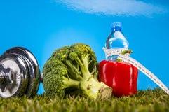 Gezondheid en geschiktheidsthema Stock Afbeeldingen