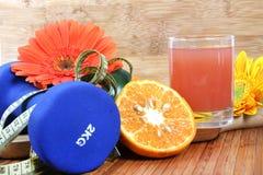 Gezondheid en sap Stock Fotografie