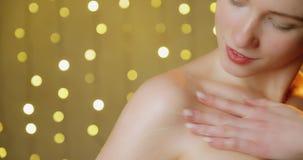 Gezondheid en schoonheidsconcept stock videobeelden