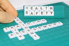 Gezondheid en veiligheid Stock Afbeelding