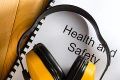 Gezondheid en veiligheid Stock Foto's