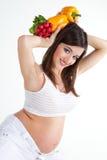 Gezondheid en zwangerschap Stock Afbeelding