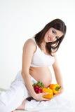Gezondheid en zwangerschap Royalty-vrije Stock Foto's