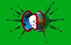 Gezondheid, epidemie, virus, ebola Stock Afbeelding