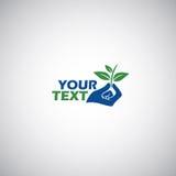 Gezondheid Logo Vector Template Stock Foto