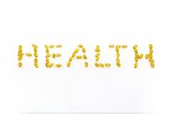 gezondheid, Omega 3 Stock Foto