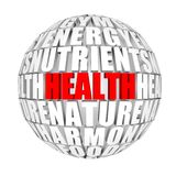 Gezondheid rond ons Stock Afbeeldingen
