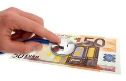 Gezondheid van de euro Royalty-vrije Stock Afbeelding