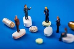 gezondheidszorg en apotheek de industrie bedrijfsmensen royalty-vrije stock foto