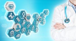 Gezondheidszorg en de geneeskundeberoeps en diensten Royalty-vrije Stock Afbeeldingen