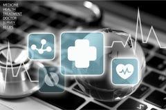 Gezondheidszorg en Geneeskunde royalty-vrije illustratie