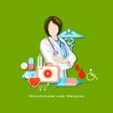 Gezondheidszorg en Medisch Concept Stock Foto's