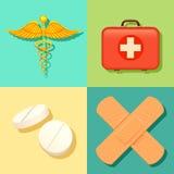 Gezondheidszorg en Medische Achtergrond Royalty-vrije Stock Fotografie