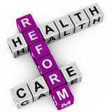 Gezondheidszorghervorming Stock Foto's