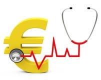 Gezondheidszorgkosten Stock Foto's