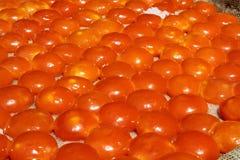Gezouten eierdooier Royalty-vrije Stock Afbeeldingen