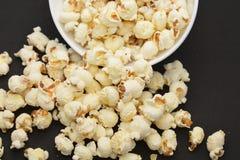 Gezouten popcornsnacks Royalty-vrije Stock Afbeelding