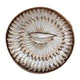 Gezouten sardines - het knippen weg Royalty-vrije Stock Foto
