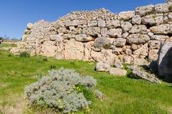 Ggantija temples - Gozo, Malta Royalty Free Stock Images