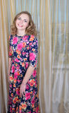Ggirl  is in a beautiful summer dress Royalty Free Stock Photo