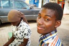 Ghańscy teenages Zdjęcia Stock