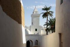 ghadameslibya moské Arkivbilder