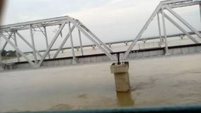 Ghaghra flod arkivfilmer