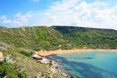 Ghaja Tehheiha Bay, Malta. Royalty Free Stock Image